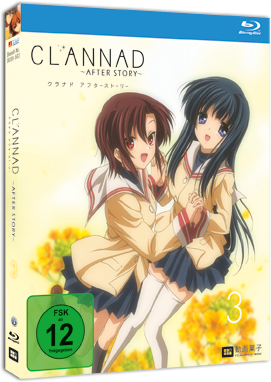 [DVD/BD] Clannad After Story Vol. 3 Vanilla