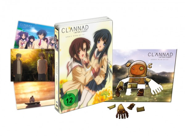 [DVD/BD] Clannad After Story Vol. 3 Limited Edition