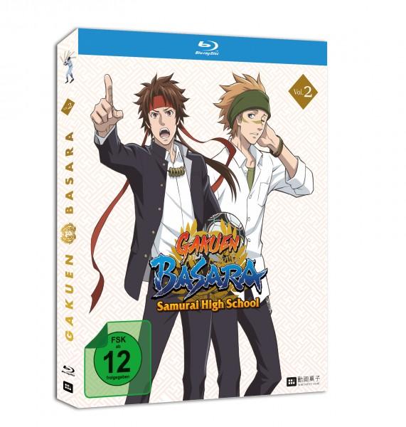 [DVD/BD] GAKUEN BASARA - Samurai High School Vol. 2