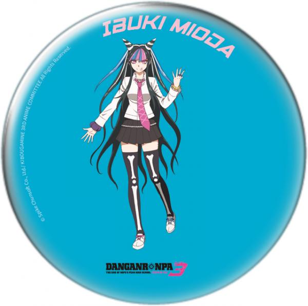 "Danganronpa 3 - Sammel-Button ""Ibuki Mioda"""