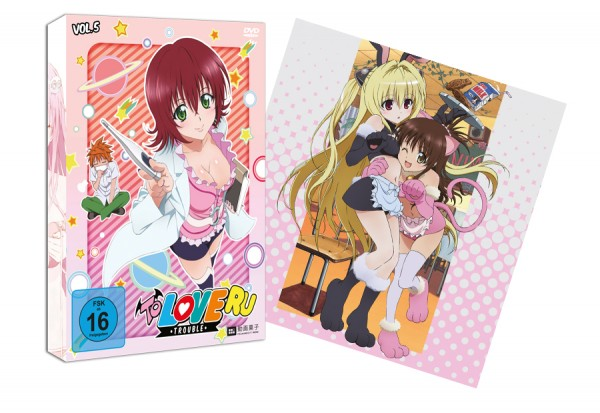 [DVD/BD] To Love Ru - Trouble Vol. 5
