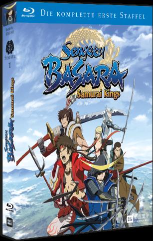 [DVD/BD] Sengoku Basara Samurai Kings Komplettbox