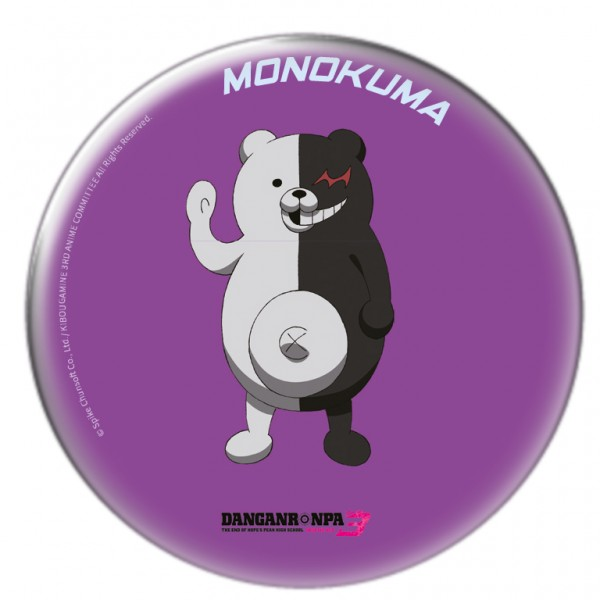 "Danganronpa 3 - Sammel-Button ""Monokuma 2"""