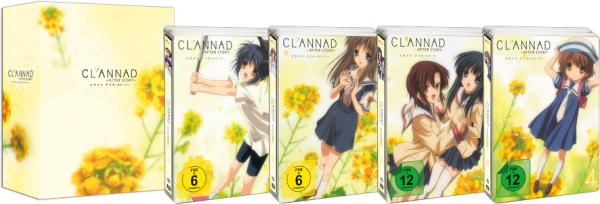 [DVD/BD] Clannad After Story Vol. 01-04 Limited Edition