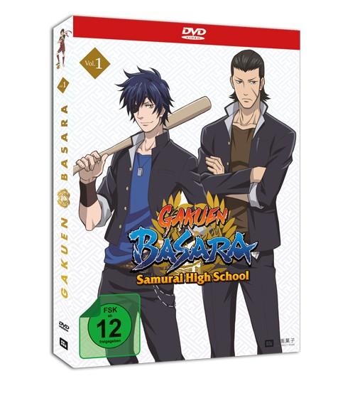 [DVD/BD] GAKUEN BASARA - Samurai High School Vol. 1